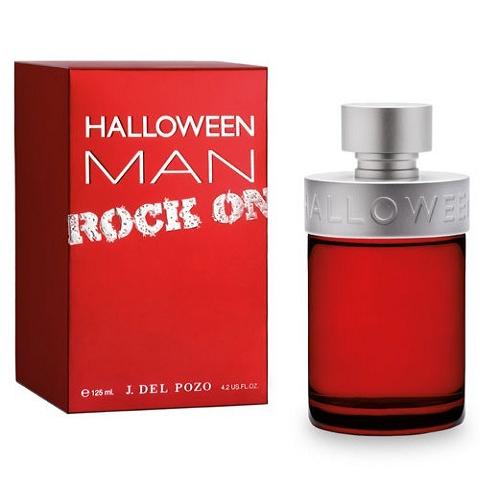 Halloween man rock on