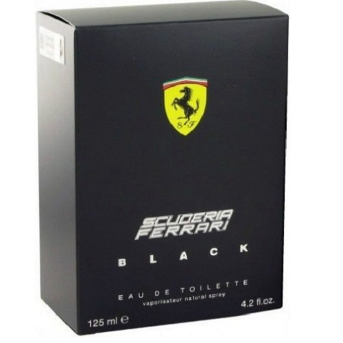 Scuderia Ferrari Black 4