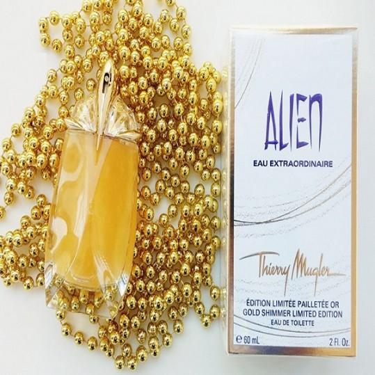 Alien Eau Extraordinaire Gold Shimmer Thierry Mugler for women -فروشگاه اینترنتی عطربازان - مرجع رسمی عطر و ادکلن درایران (2)