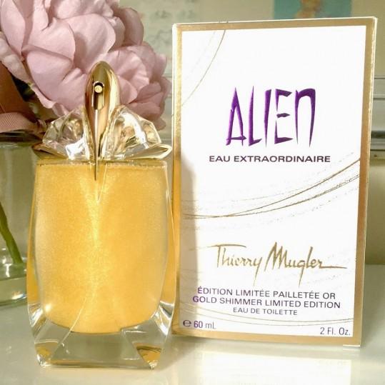 Alien Eau Extraordinaire Gold Shimmer Thierry Mugler for women -فروشگاه اینترنتی عطربازان - مرجع رسمی عطر و ادکلن درایران (3)