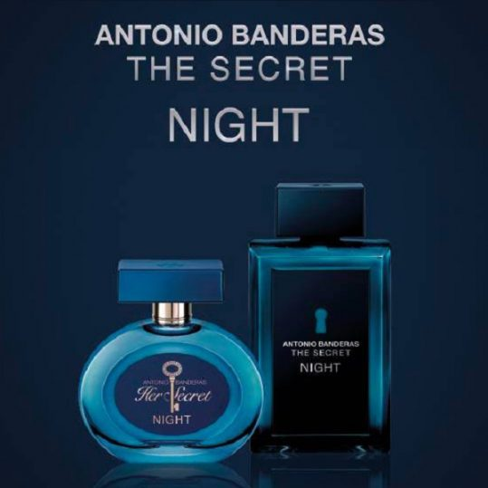 Her Secret Night Antonio Banderas for women - فروشگاه عطربازان